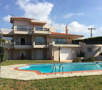 Lovely maisonette next to the beach Villa Danae - Kalivia Thorikou - Villa