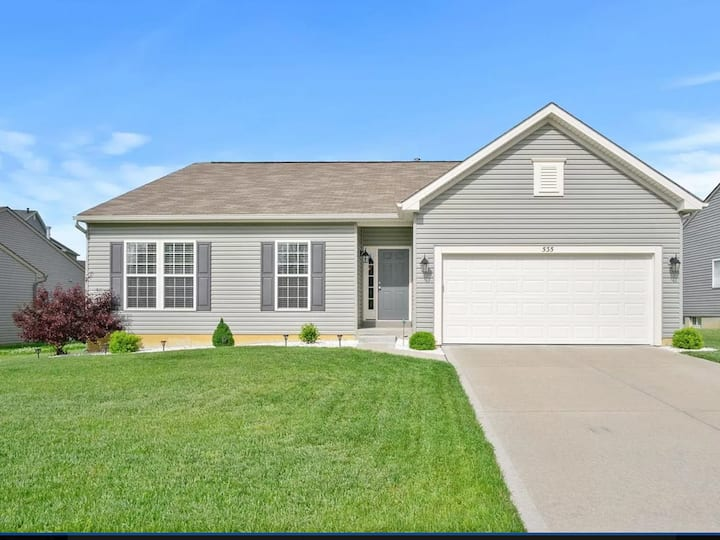 Gorgeous ranch style home in heart of Wentzville