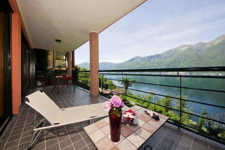 Sunrise Terrace - Maccagno con Pino Tronzano - Appartement