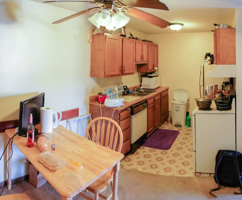 One Bedroom In A Two Bedroom Apartments For Rent In Urbana Illinois United States