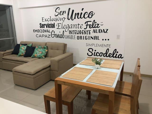 NICE STAY IN MEDELLIN•NEAR EL POBLADO•2 FREE PARK