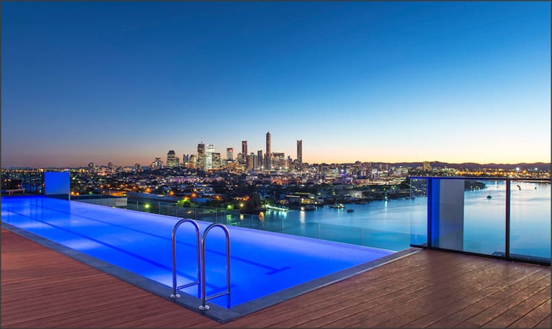 Close to CBD and overlook Brisbane River - Hamilton - Departamento