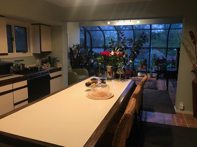 Kitchen is a shared space. If you want to cook your meals while staying with us, please, let me know what cookware and utensils you need. We provide silverware and some utensils in a small kitchenette near your room.