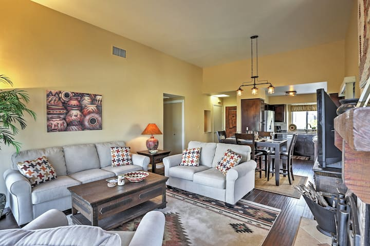 Kick back and relax in the inviting living room!