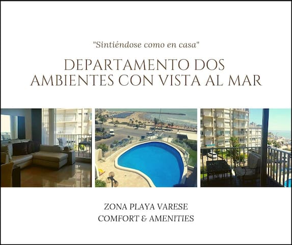 Quality  two bedrooms apartment with  - sea view.