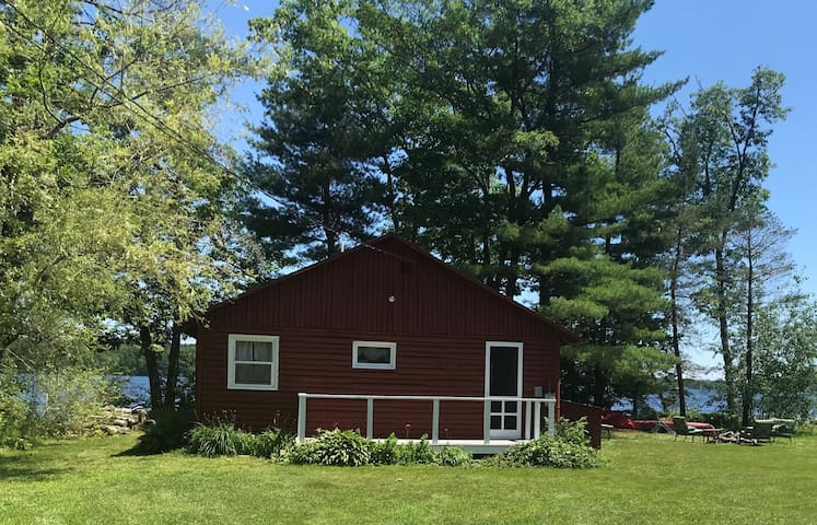 Little Red Cabin on South Pond
