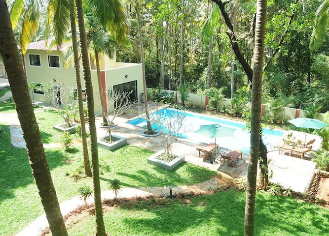 Palolem INNGOA Holiday Homes £1 - Canacona - Flat