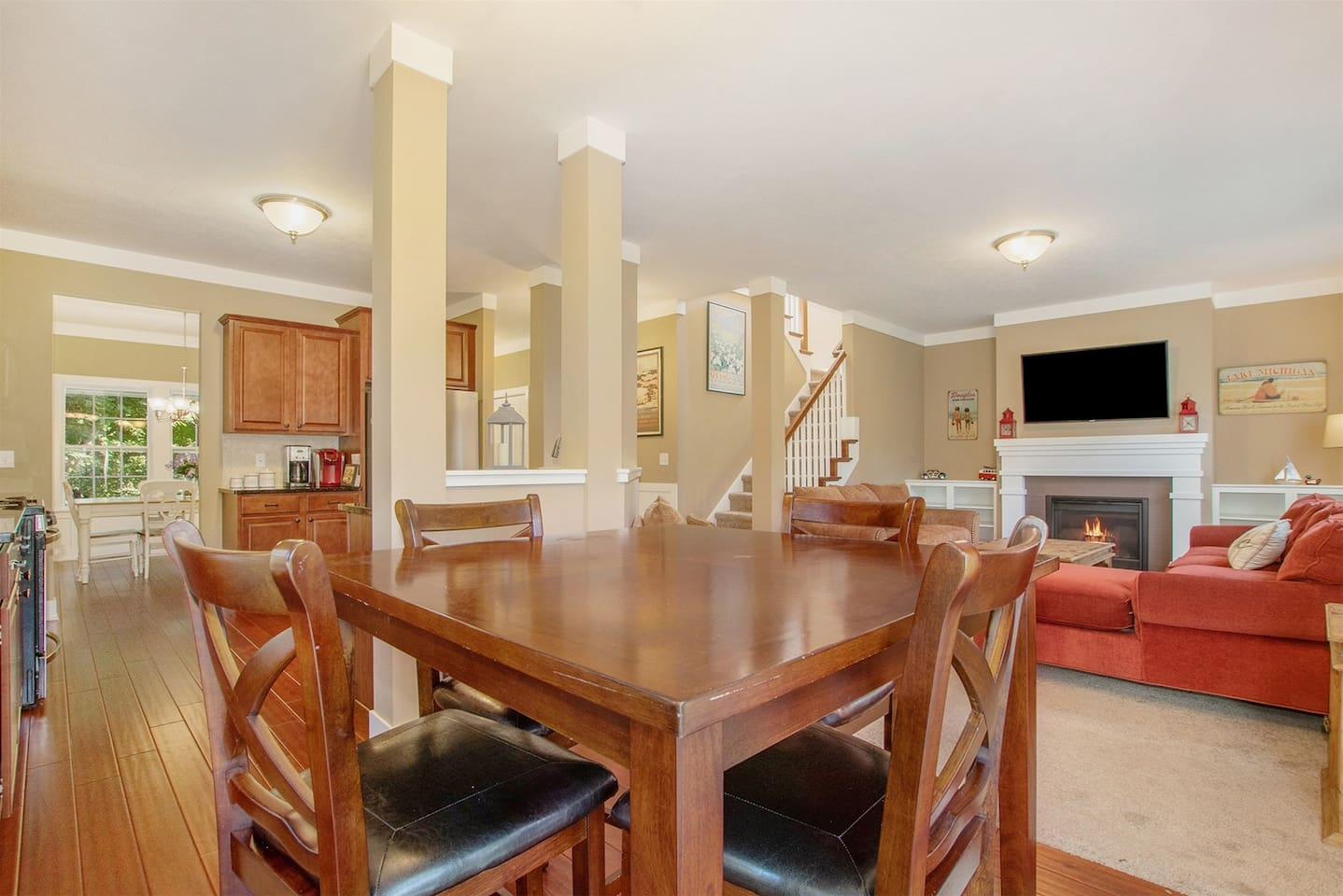 Silverberry Acres has an open concept floor plan with lots of space to visit with your loved ones