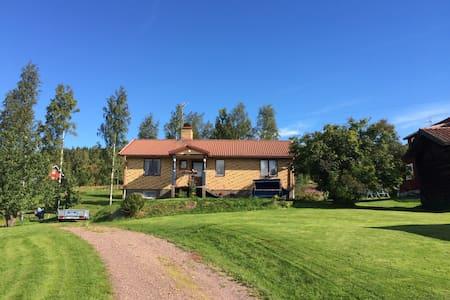 Trevligt hus med vacker utsikt - Leksand NV