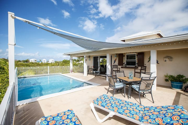 Casa de Isle,  Taylor Bay  /key,  Chalk Sound area - Providenciales and West Caicos - Huis