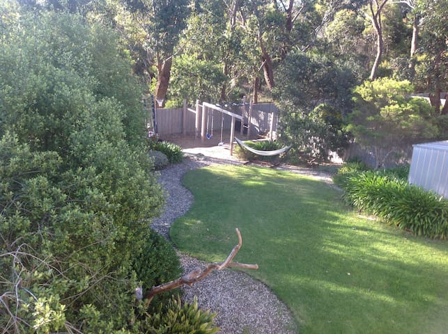 Ocean and bush views from light,airy coastal home. - Anglesea - House