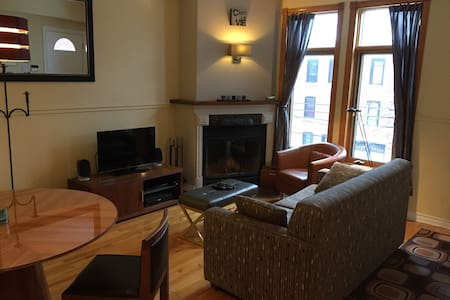 Multy-level, Terrace and fully equipped apartment. - Montréal - Apartment