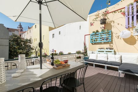 New ! Sweet Terrace Apartment - Lisboa