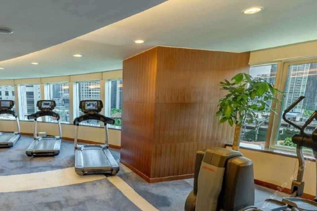 Gym on level 6.
