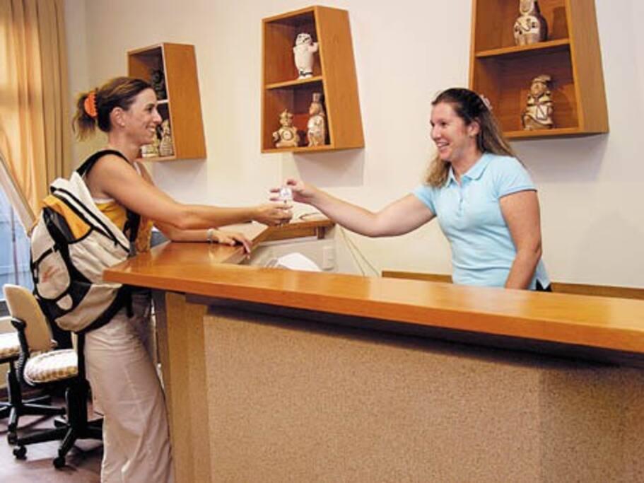 Recepción 24 horas, recomendaciones y asesoramiento desde tu llegada hasta tu partida de Lima