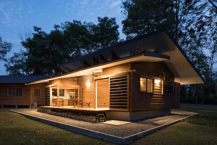 Modern Wooden Cottage