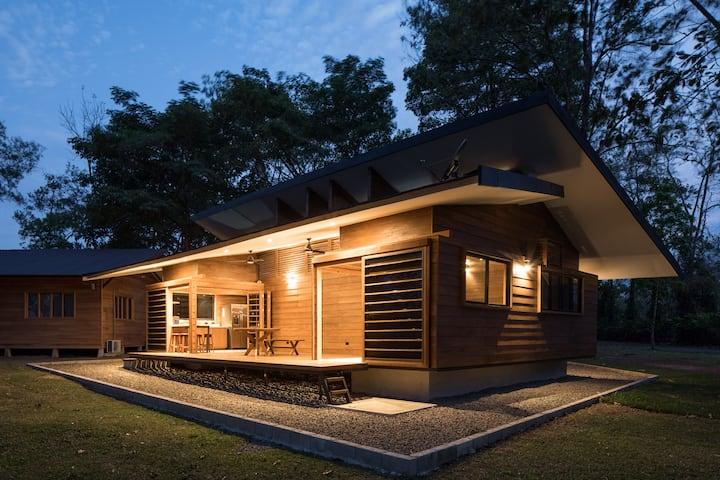 Modern Wooden Cottage