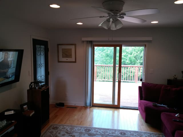 Nicely Furnished 1 bedroom Apartment - Richland Center - Appartement
