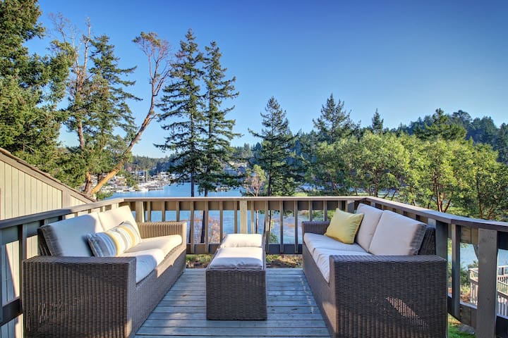 Waterfront Loft-Roche Harbor, San Juan Island - Friday Harbor - Apartamento