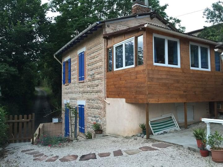Maison en bordure de Garonne