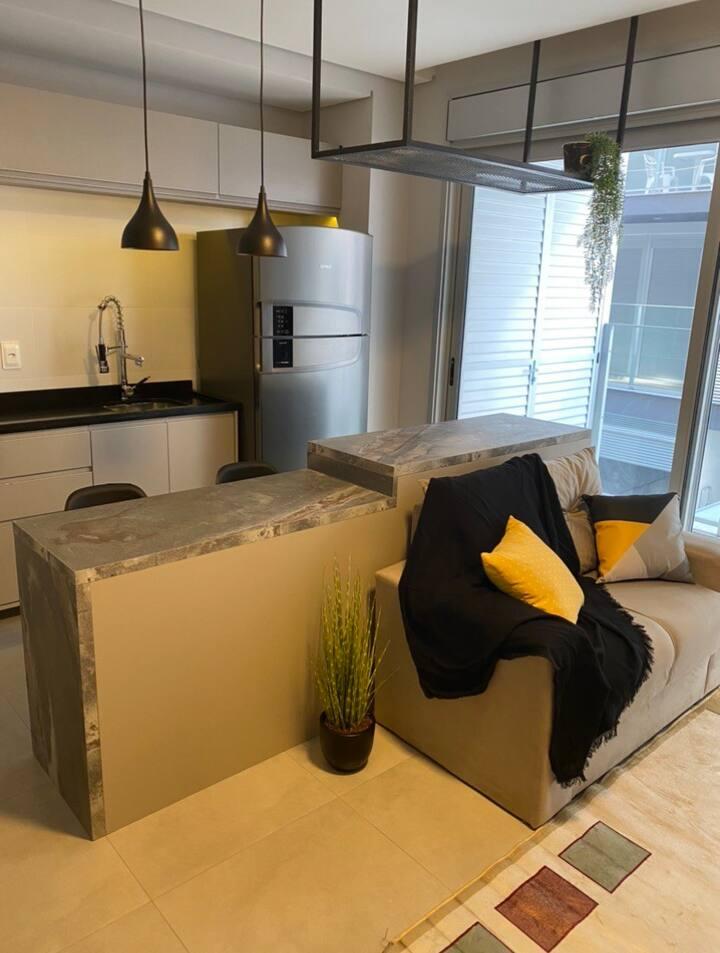Smart loft nunca habitado  no prédio Studio PlusII