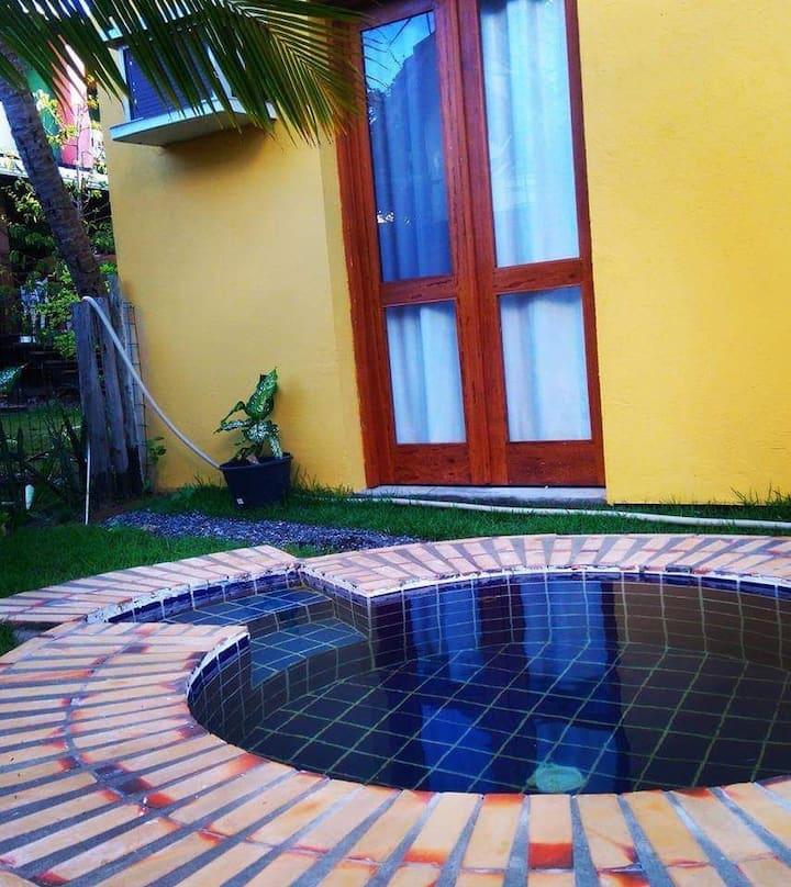 Apartamento 1/4 Beira Mar Cond Sossego de Jaua