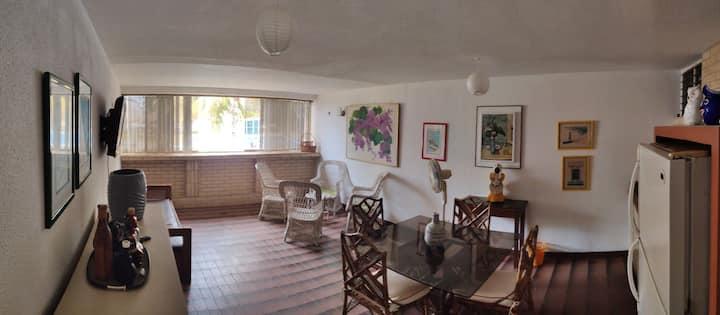 Fantastico apartamento con playa privada