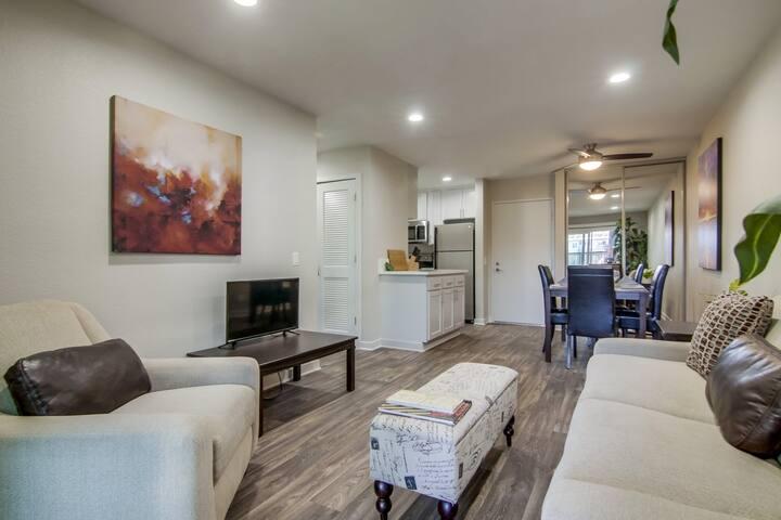 Modern San Diego Suite + Walk Score 75