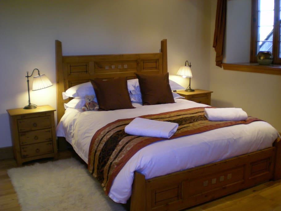 One of our King Size bedrooms