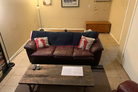 Couch Space in a Cozy Ranch