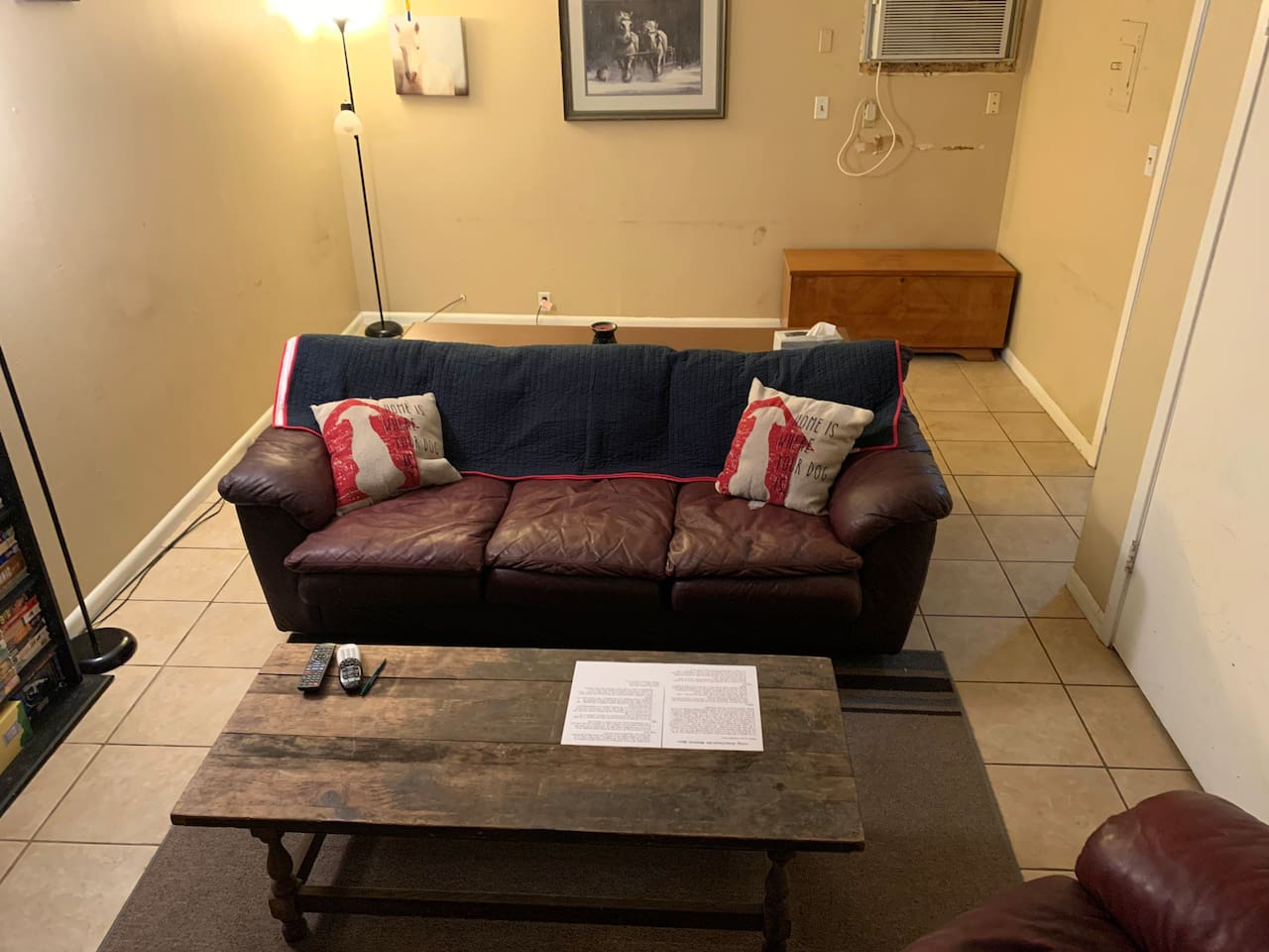This listing is ONLY for the couch space.