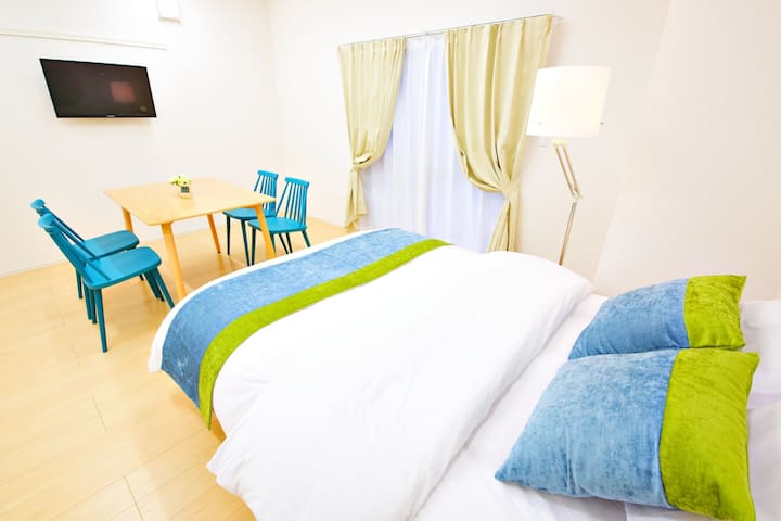 #101 Ms HOTEL Omoromachi Sta 5mins walk!AS902