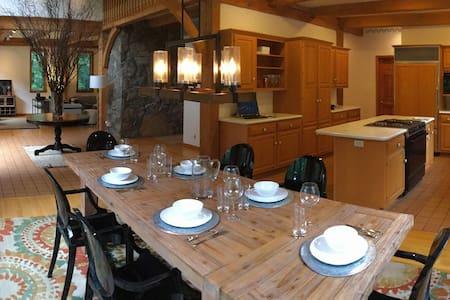 Woodland House, sleeps 10 in luxury - Staatsburg - 独立屋
