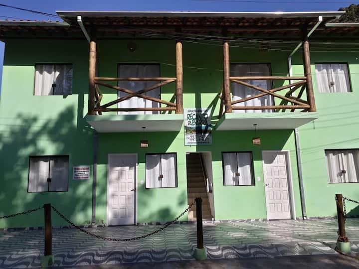 Apartamento Recanto da Barra 100m Praia Barra Seca