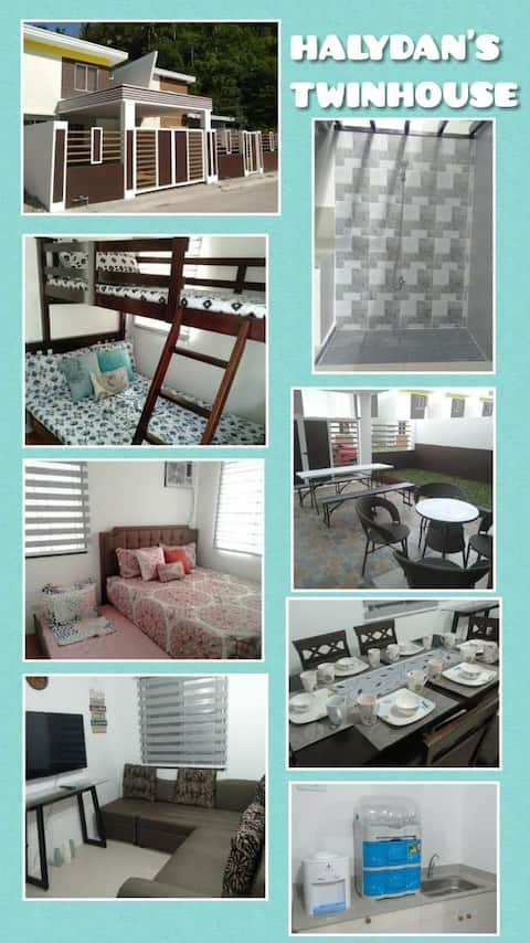 Brand new beach house for rent,Halydan's Twinhouse