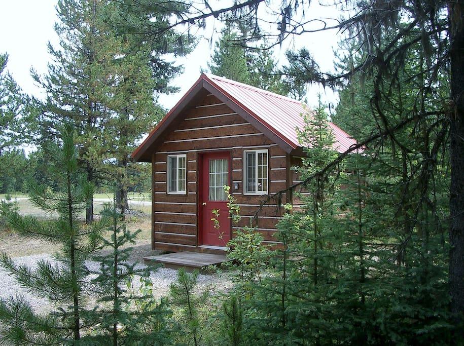 Secluded Numa cabin.