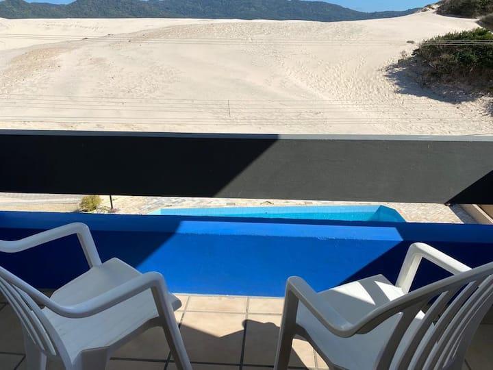 Apartamento (202) de Frente Dunas e 400m da Praia