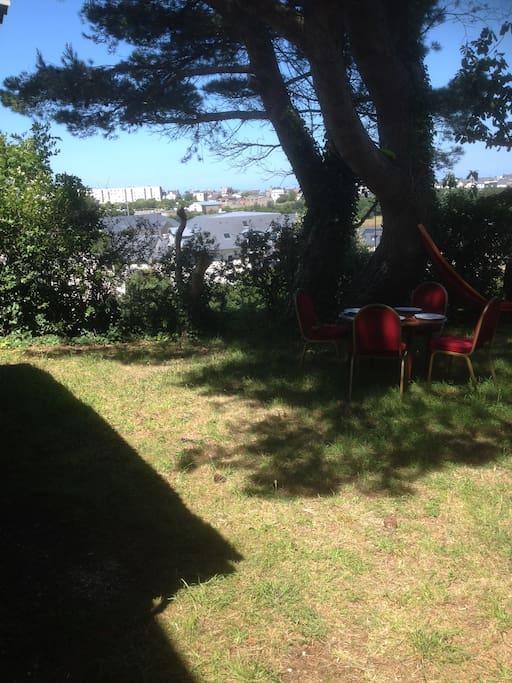Jardin ombragé (ou pas)