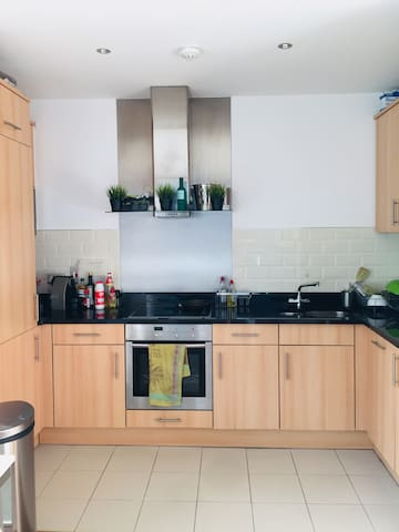 Bright and spacious apartment in city centre.