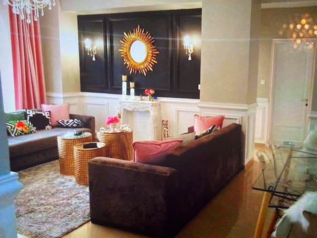 Romantic apartment luxurious double