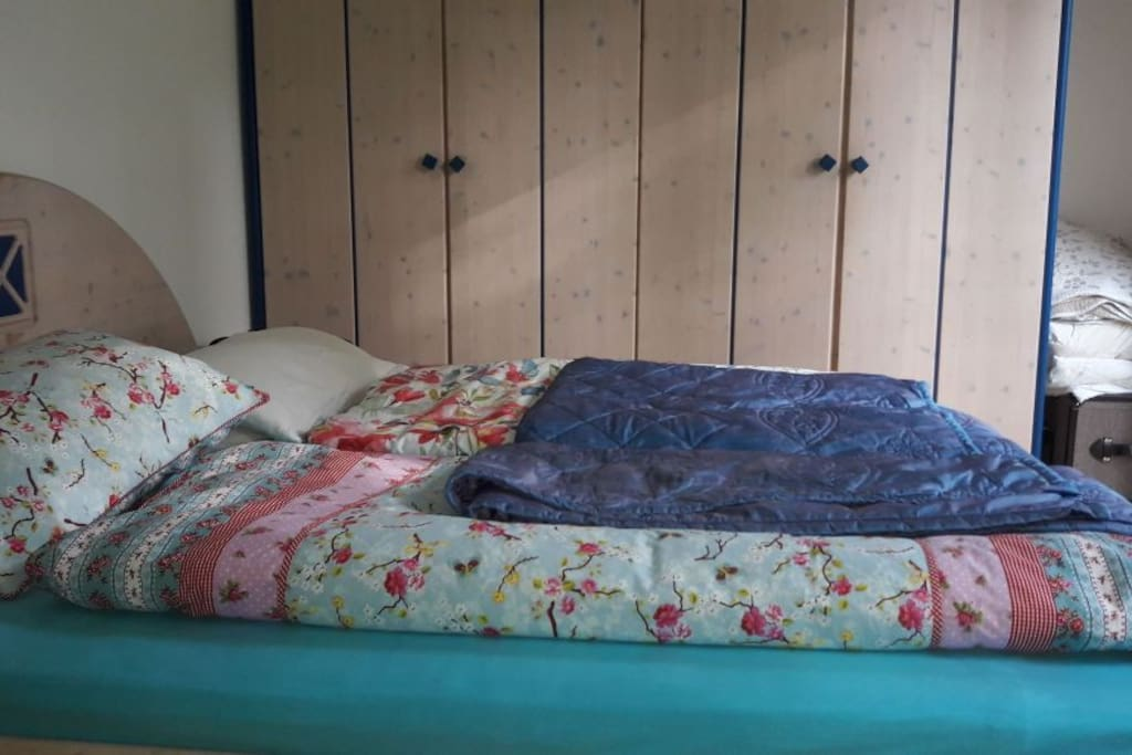 Das Schlafzimmer für Gäste