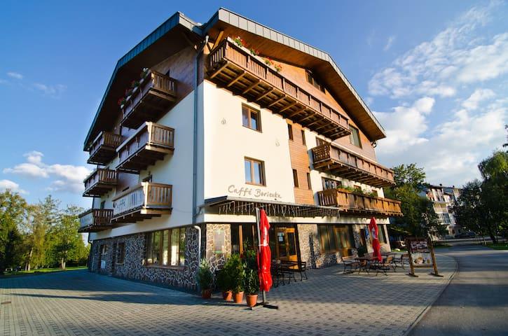 Apartmán Borievka v centre Tatranskej Lomnice