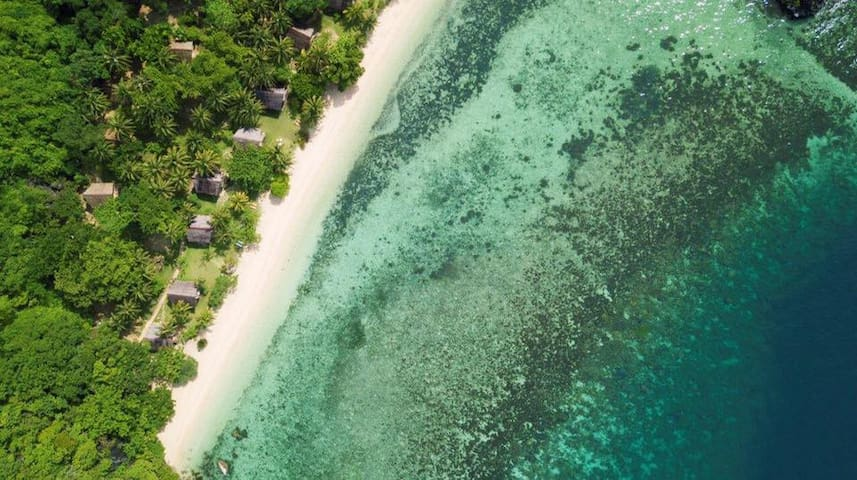 Eco-friendly Resort on Secluded Island in Palawan