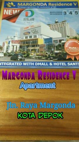 MargondaResidence V Apartment Depok - Depok - Apartmen