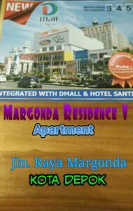 MargondaResidence V Apartment Depok - Depok