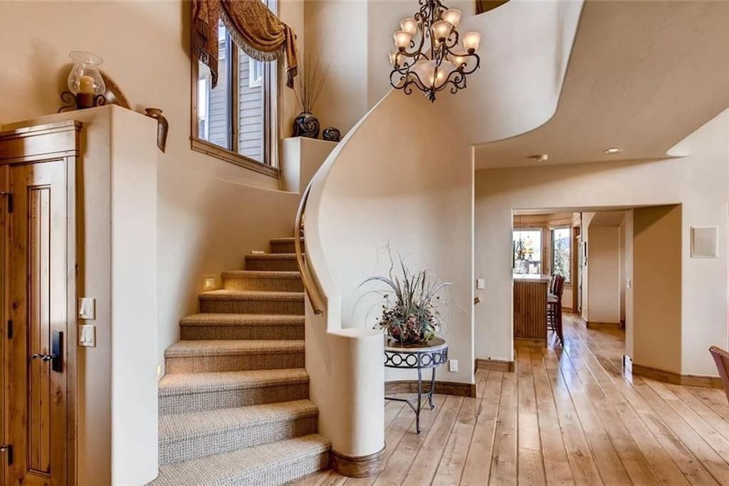 A welcoming foyer to this beautiful home!