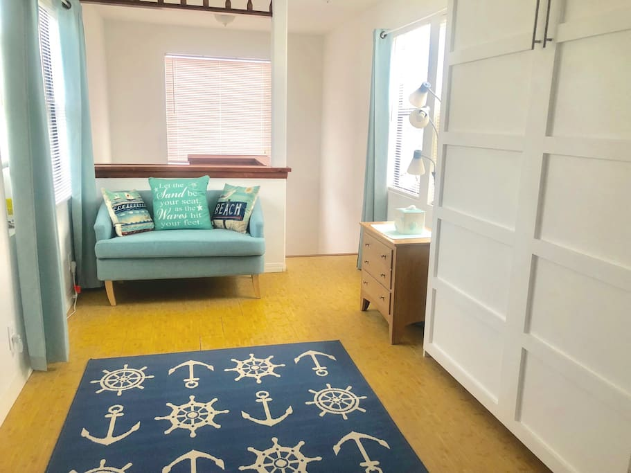 Murphy Bed up if you like