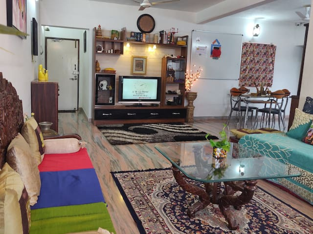 Jain Boutique Home- Fully Furnished A.C.Apartment