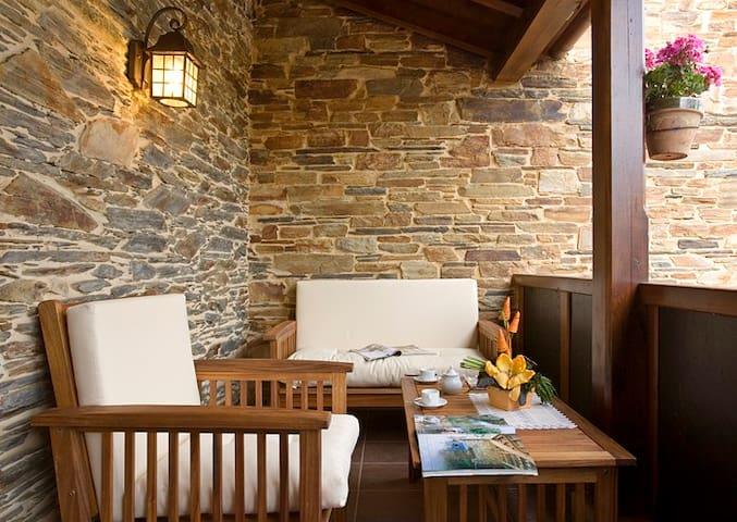 Casa Rural Balcón de Oscos, Apartamento 4 personas