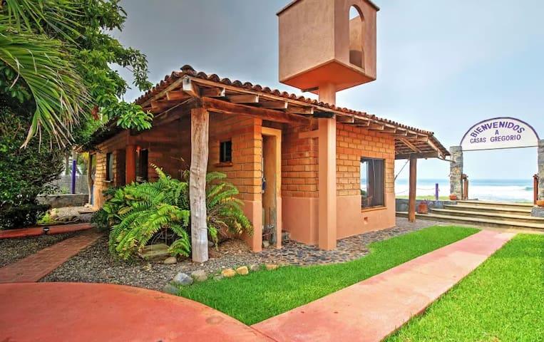 'Brick Casa' - 2BR Troncones House w/Patio! - Troncones - Ev
